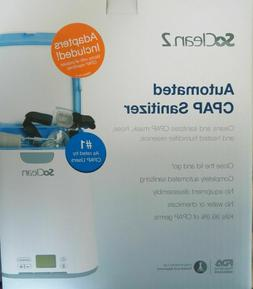 2 cpap automated cleaner and sanitizer