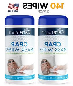 Care Touch CPAP Cleaning Mask Wipes - Unscented, Lint Free -