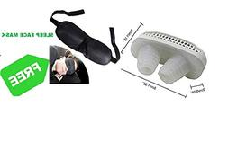 Anti Snoring Nose Vents Clip Nasal Strip - Free Sleep Mask,