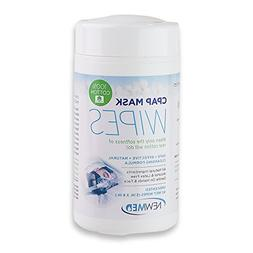 Newmed CPAP Mask Wipes - 2 packs of 62 wipes