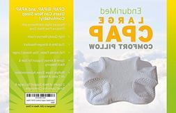CPAP Pillow-Memory Foam Contour Design Reduces Face & Nasal