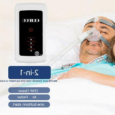 portable mini cpap automated cleaner and sanitizer