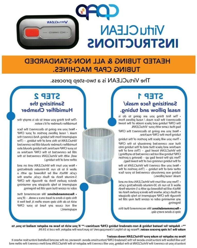 Virtuclean Cleaner AirSense Charger, Bag