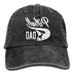 Pitbull Dad Vintage Washed Dyed Cotton and Denim Hats Adjust