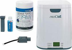 SoClean 2 CPAP Cleaner and Sanitizer Bundle with Adapter for