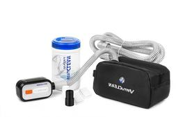 VirtuCLEAN CPAP Equipment and Mask Cleaner with black adapte