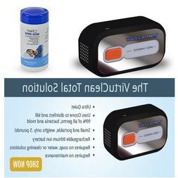 VirtuClean waterless Cpap Sanitizer & Cleaner  - w/Free 62 C